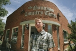 Chris Dickey, publisher of Gunnison Country Times (New York Times)