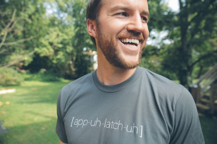 Teach people how to properly pronounce Appalachia with this new t-shirt.