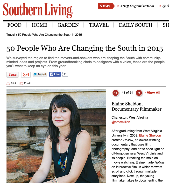50 People Who Are Changing the South in 2015. Photo by Elle Effect