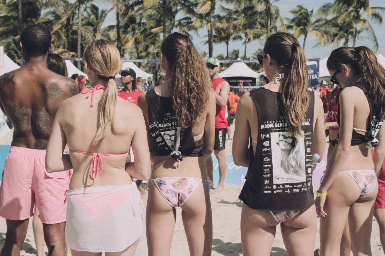 Bums in South Beach.